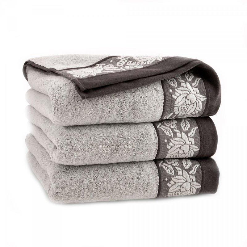 Ręcznik frotte KARIF 50x100 kolor brązowy