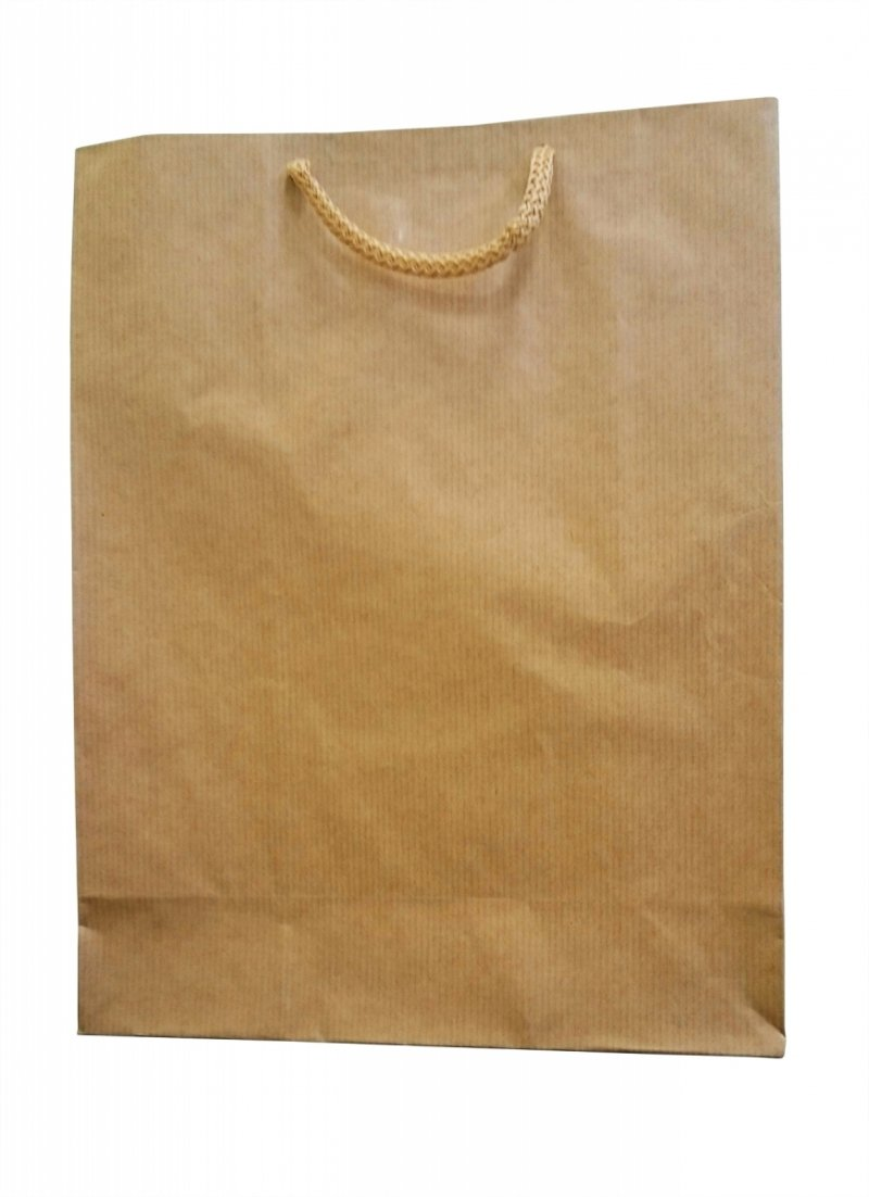 Opakowanie, torba papierowa 30x24cm wz. EKO X