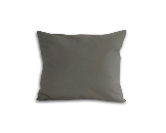Poszewka na poduszkę 50x60 - 100% bawełna satynowa DARYMEX, zapięcie na zamek wz. jasny szary 037