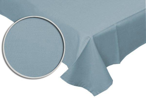 Prześcieradło RUBIN 100% bawełna 220x200 bez gumki wz. niebieski