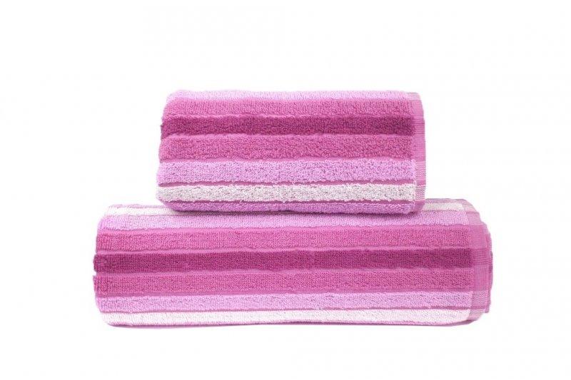 Ręcznik EDEN 70x140 kolor różowy