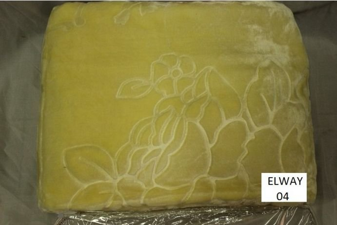 Koc akrylowy Elway z tłoczeniem 160x210 wz. A04