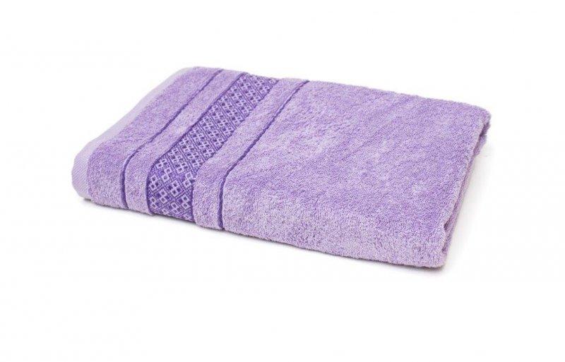 Ręcznik LUKSOR - rozmiar 70x140 wz. Fiolet