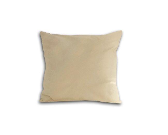 Poszewka na poduszkę 40x40 - 100% bawełna satynowa DARYMEX, zapięcie na zamek wz. kremowy