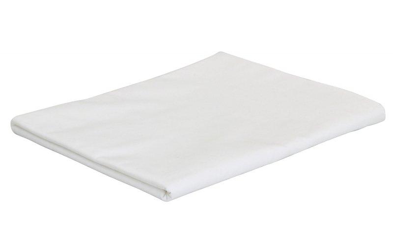 Prześcieradło białe hotelowe 160x220 Promyk