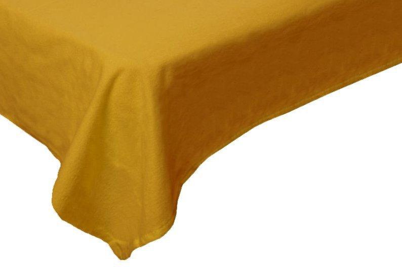 Prześcieradło flanelowe, gruba FLANELA 160x200 wz. Zółty