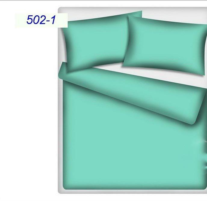 Poszewka na poduszkę RUBIN wz. turkus, rozmiar 50x80 100% bawełna