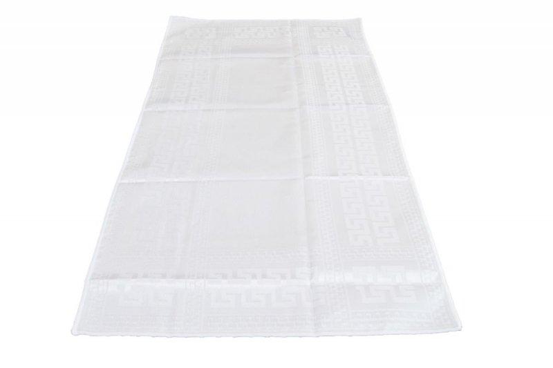 Obrus teflonowy rozmiar 50x100 wzór biały (190)