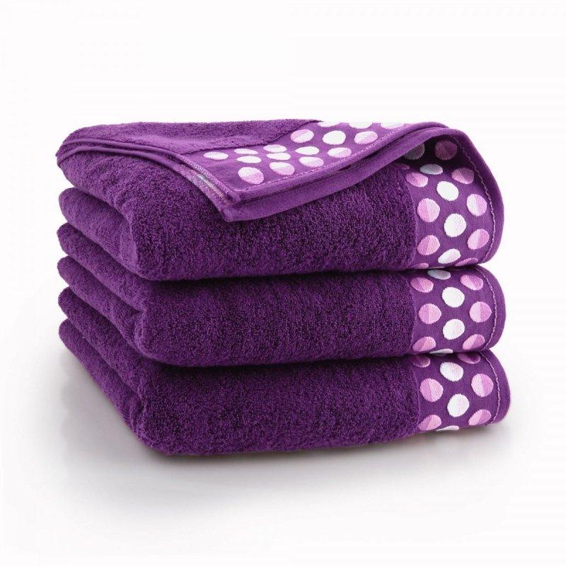Ręcznik ZEN 50x90 kolor śliwkowy