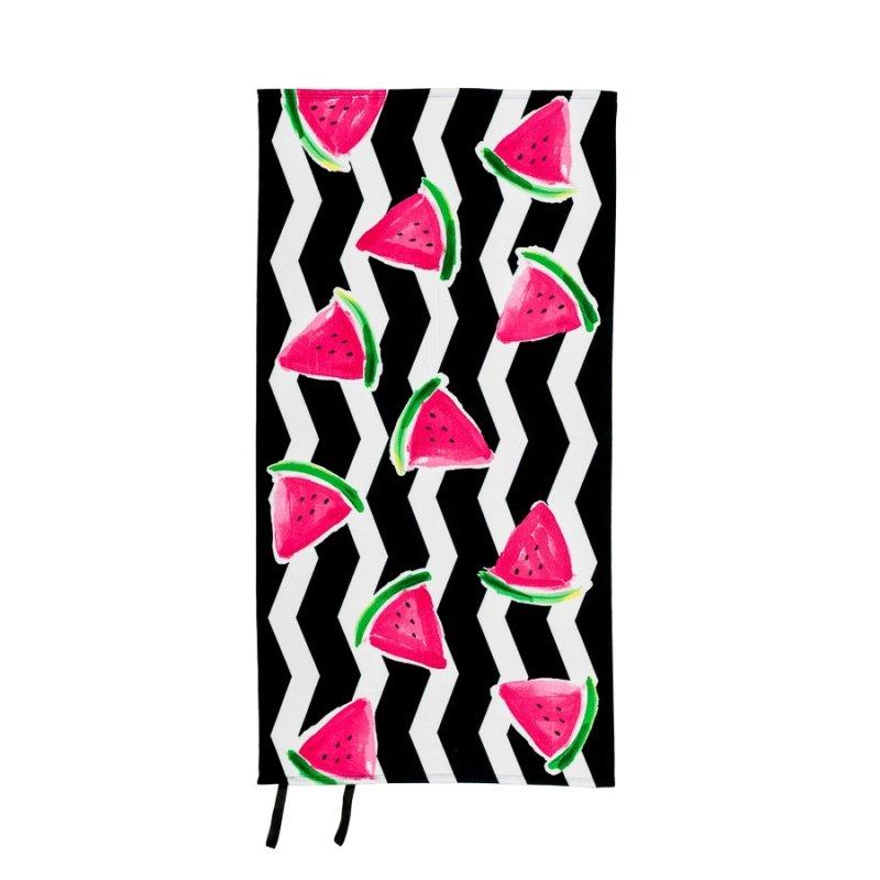 Ręcznik plażowy z gumką 90x170 wz. Arbuz