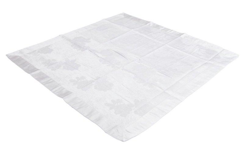Obrus teflonowy rozmiar 85x85 wzór biały (239)