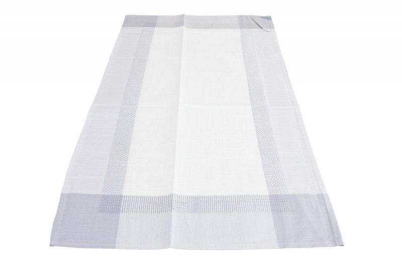 Obrus teflonowy rozmiar 50x100 wzór krem/szary (250)