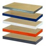 Zusatzboden 110 x 050_P zu Metallregal Helios VERZINKT und pulverbeschichtet alle FARBEN