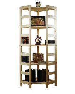 Holzregal Bücherregal R-12 ( 166x56x56 ), 5 Böden
