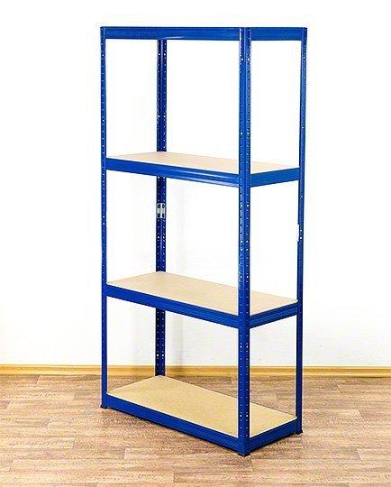 Metallregal Werkstatt Schwerlastregal Helios 180x110x45_4 Böden, Tragkraft bis 400 Kg pro Boden,  Viele Farben zur Auswahl