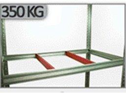 Zusatzboden 075 x 030_P zu Metallregal Helios VERZINKT und pulverbeschichtet alle FARBEN