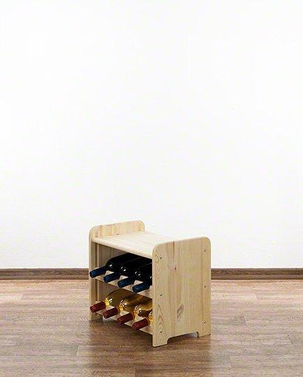 Weinregal für 8 Flaschen RW-3-08P (43x38x36,5)