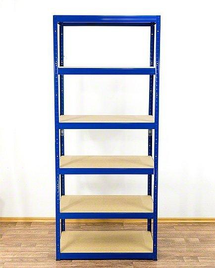 Metallregal Werkstatt Schwerlastregal Helios 196x075x40_6 Böden, Tragkraft bis 400 Kg pro Boden,  Viele Farben zur Auswahl
