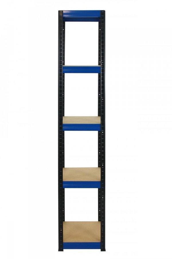 Metallregal Werkstatt Schwerlastregal Helios 213x060x60_5 Böden, Tragkraft bis 175 Kg pro Boden,  Viele Farben zur Auswahl, Quadratisch