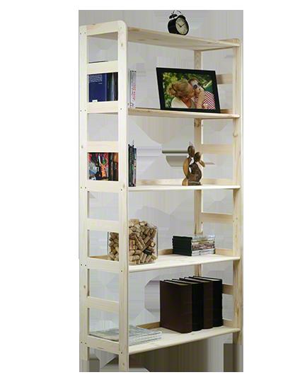 Holzregal Bücherregal R-10     166x83x33 cm