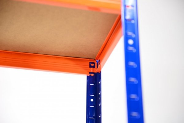Metallregal Werkstatt Schwerlastregal Helios 213x100x45_5 Böden, Tragkraft bis 400 Kg pro Boden,  Viele Farben zur Auswahl