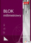 Blok milimetrowy A4 20kartek UNIPAP
