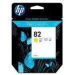 Tusz HP 82 do Designjet 100/200/500/510/800 | 69 ml | yellow