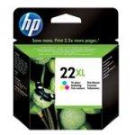 Tusz HP 22XL do Deskjet 3940/D2360/D2460/F380   415 str.   CMY
