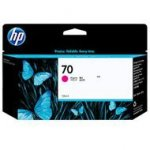 Tusz HP 70 Vivera do Designjet Z2100/3100/3200/5200 | 130 ml | magenta