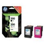 Zestaw dwóch tuszy HP 300 do Deskjet D1660/2560/5560 | 200(BK), 165(COL) | CMY/K