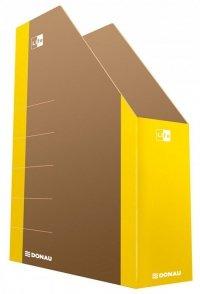 Pojemnik na dokumenty DONAU Life, karton, A4, żółty