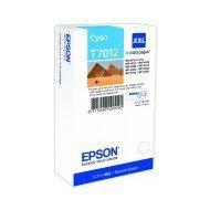 Tusz Epson  T7012  do  WP-4015DN/4095DN/4515DN/4525DNF XXL | 34,2ml | cyan