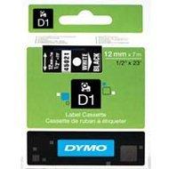 Dymo taśma do drukarek etykiet, D1 45021 | 12mm x 7m | biały / czarny