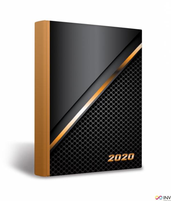 Kalendarz 2020 TOP 2000 Universal B6 dzień na stronie, miks męski 400126218