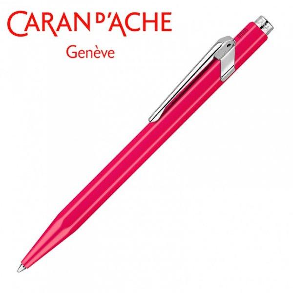 Długopis CARAN D'ACHE 849 Line Fluo, M, różowy