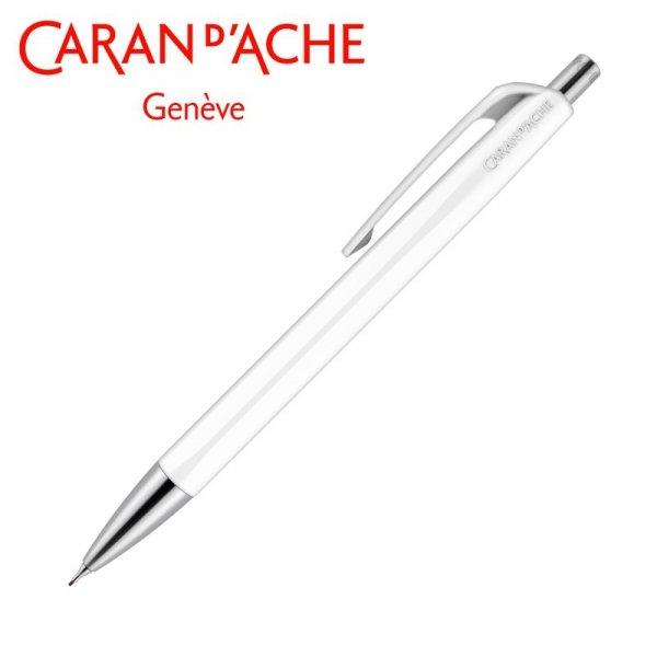 Ołówek automatyczny CARAN D'ACHE 884 Infinite, biały