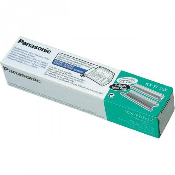 Panasonic Folia KX-FA55X 2x 150 str Fax KX-FP 82,80,81,85,86,150,155, FM 90