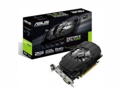KARTA ASUS GEFORCE GTX 1050 2GB Phoenix BOX Gw36m
