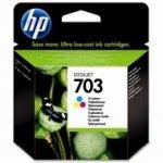 Tusz HP 703 do Deskjet Ink Advantage F730/735 | 250 str. | CMY