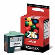 Tusz Lexmark 26 do Z-13/23/24/25/33, X-1250/1270 | CMY
