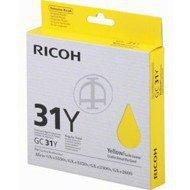 Tusz Ricoh do GXE2600/3300/3350/5550 | 1 000 str. | yellow