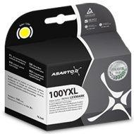 Tusz Asarto do Lexmark 100   14 ml   Pro205 / Pro905   yellow