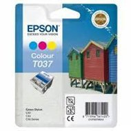 Tusz Epson T037 do C42+ | 15 ml | CMY