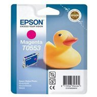 Tusz Epson T0553 do Stylus Photo R-240/245, RX-425/520 | 8ml | magenta