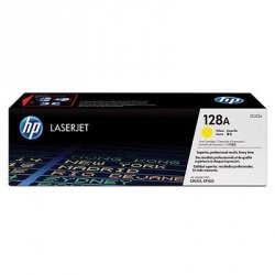 Toner oryginalny HP 128A (CE322A) yellow do HP Color LaserJet Pro CP1525n / Pro CP1525nw / CM 1415fn /  CM 1415fnw na 1,3 tys. str.