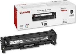 Toner oryginalny Canon 718 black do Canon I-Sensys LBP-7200Cdn / LBP-7680Cxna / LBP-7660Cdn / MF-8350Cdn / MF-8330Cdn / MF-8380Cdw na 3,4 tys. CRG718BK
