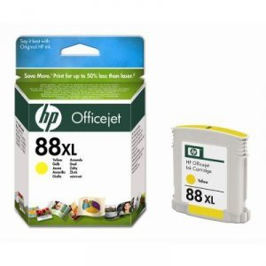 Tusz HP No 88XL yellow C9393AE poj. 17ml do OfficeJet Pro K5400 / K550 / L7680 / L7780