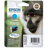 Tusz Epson T0892 do Stylus S20, SX-100/-105/-200/-205 | 3,5ml | cyan
