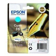 Tusz Epson T1622 do WF-2510WF/2520NF/2530WF | 3,1ml | cyan