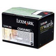 Kaseta z tonerem Lexmark do C-540/543/544/546 | zwrotny | 1 000 str. | black